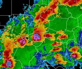 nws louisville doppler radar exle data images