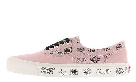Vans X Brain Deads brain dead x vans ua era lx pink the sole supplier