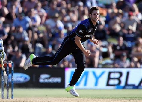 Mat Henry by 3 New Zealand Players Achieve Career Best Icc Odi Rankings