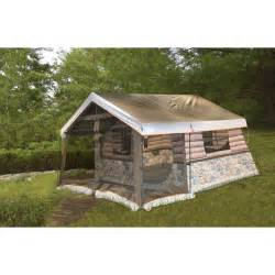 Cabin Tents by Igloo 8 Man Log Cabin Tent Front Porch And All Www