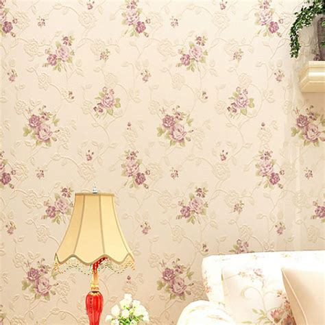 flower wallpaper home decor buy flower wallpaper floral non woven textile wall paper