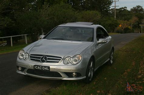 mercedes nsw 2009 mercedes clk280 avantgarde with amg sports pack