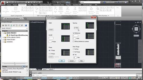 tutorial autocad for electrical autodesk autocad electrical 2014 tutorial basic proje
