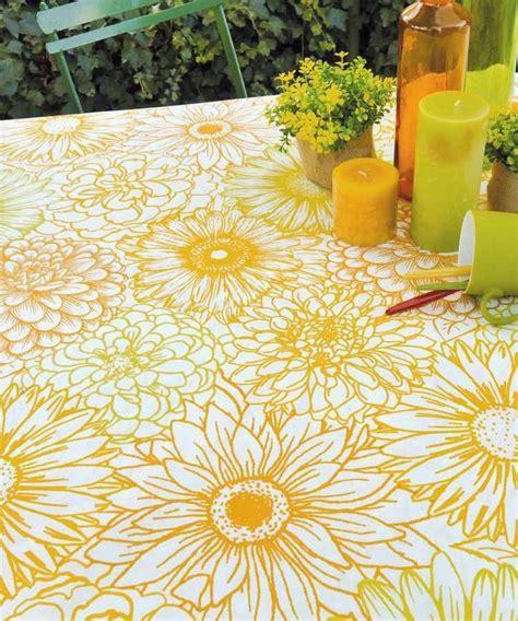 nappe grande table les 18 meilleures images du tableau nappe enduite