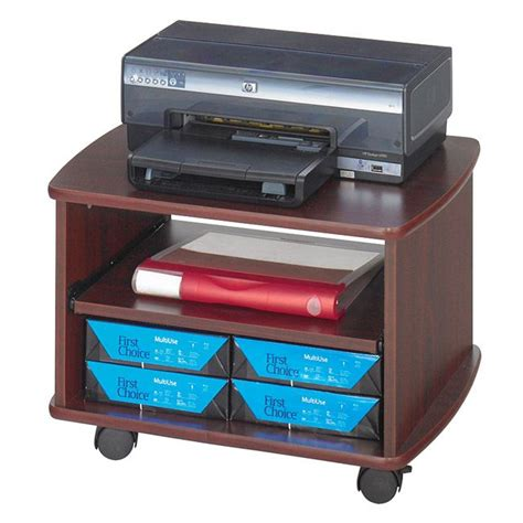 rolling printer cart desk 1000 ideas about printer cart on rolling bar