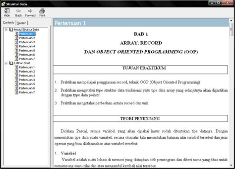 format chm adalah cara membuat e book berformat chm uyi s blog