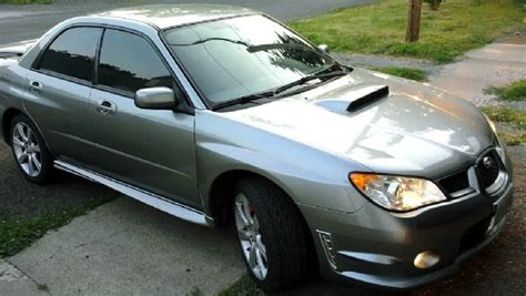 subaru hawkeye for sale tastefully modded low miles 07 urban grey metallic