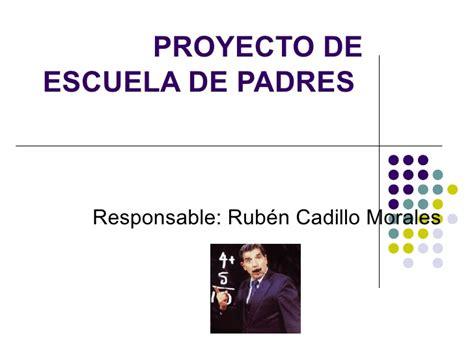 Proyecto De Escuela De Padres