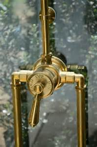 Copper Bathroom Faucet Shower Valve Copper And Industrial On Pinterest