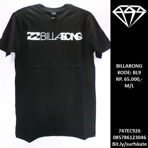 Tshirt Kaos Element baju kaos billabong t shirt tees surfskatees
