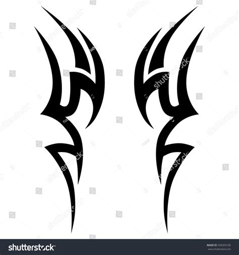 tribal tattoos vector tribal vector designstribal tattoos tribal stock