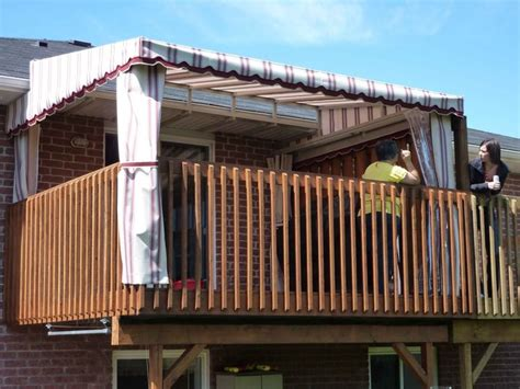 Shade Awning For Deck by 1000 Ideas About Deck Canopy On Patio Shade