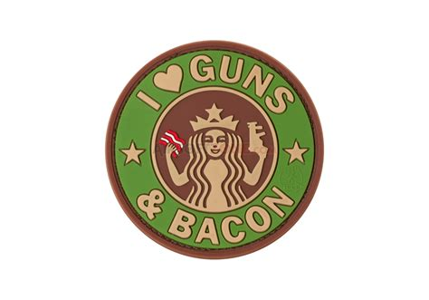 Patch Rubber Patch My Ak guns and bacon rubber patch multicam jtg rubber patches patches equipment airsoftzone