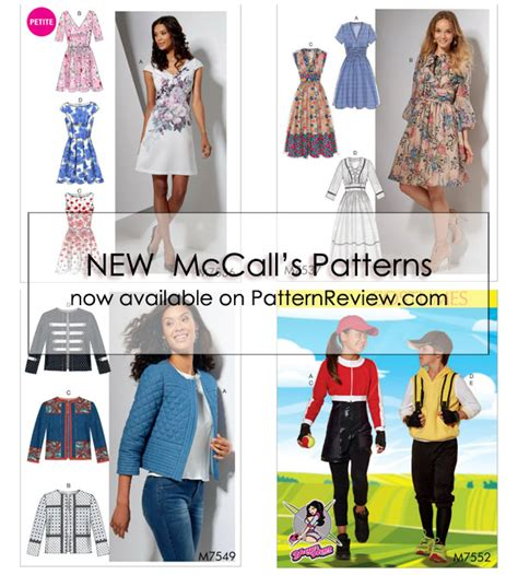 new mccall s early spring catalog jan 2018 1 23 18 new mccall patterns early spring 2017 1 2 17