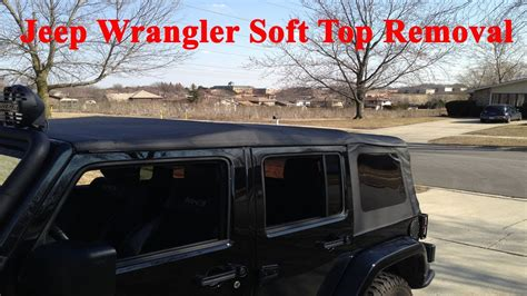 jeep wrangler top removal one person how to put 4 door jeep wrangler soft top with one