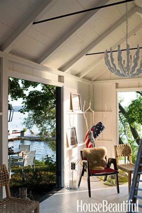 thom filicia lake house rustic lake house decor