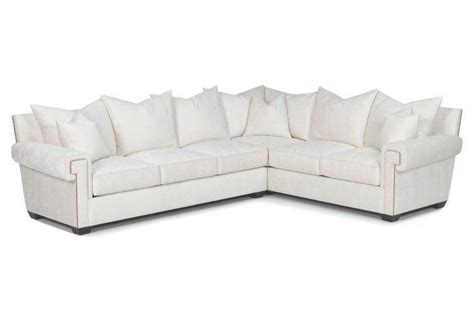 Studded Sectional Sofa by Emile Sectional Sofa With Studded Nailheads And Scroll