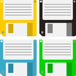 Floppy Disks Clip Art at Clker.com - vector clip art ...