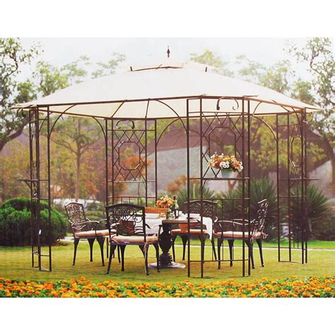 southern patio gazebo home depot southern patio gazebo replacement canopy items in