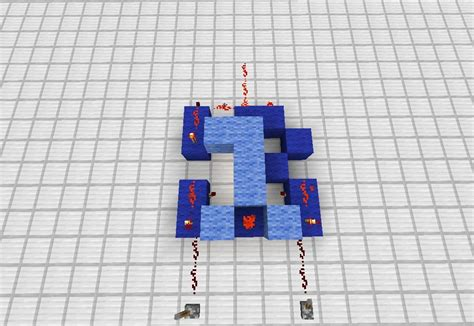 how to build a simple redstone adding machine in minecraft