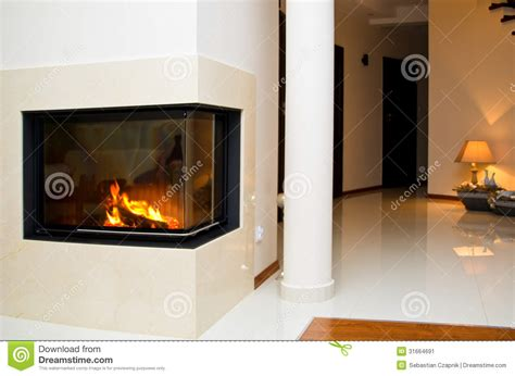 Glass Fireplace Covers by Fireplace Stock Image Image 31664691