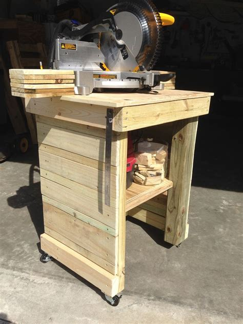 woodworking miter saw miter saw stand made from scrap wood miter saw