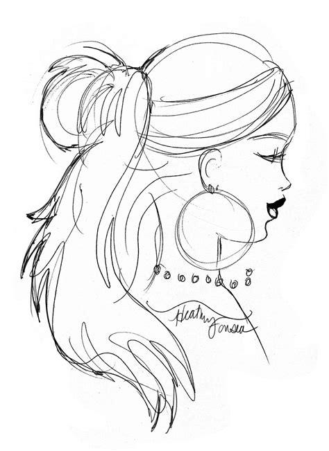 hairstyles drawings easy easy creepy drawings dark brown hairstyles chainimage