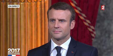 emmanuel macron le president de france emmanuel macron est officiellement pr 233 sident de la r 233 publique
