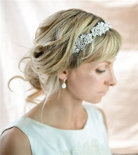 Vintage Wedding Hair Bands by Vintage Style Headband Wedding Headband