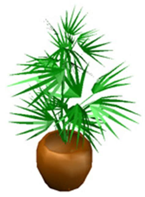 vaso fiori dwg piante per interni 3d dwg
