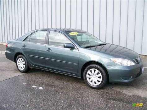 Toyota Camry Green Color 2005 Aspen Green Pearl Toyota Camry Le 1684702 Photo 3