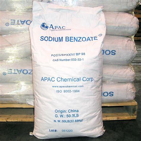 Sodium Benzoat 500 Gram sodium benzoate apac chemical