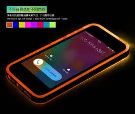 phone that lights up light up cell phone for iphone 5 light weight plastic