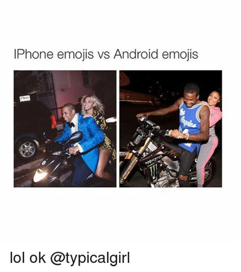 Android Vs Iphone Meme by Iphone Emojis Vs Android Emojis Lol Ok Android Meme On