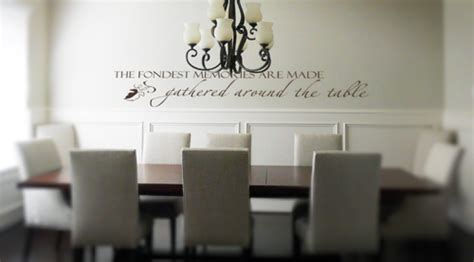 dining room wall decals the fondest memories are made beautiful wall decals