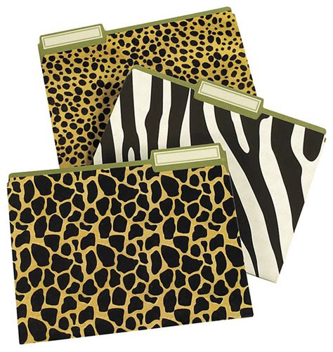 Leopard Print Desk Accessories Zebra Print Desk Accessories Animal Print Desk Accessories Office Supplies So Stylish You Ll