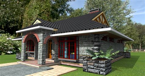Deluxe 3 Bedroom Bungalow Plan David Chola Architect House Plans And Designs Kenya