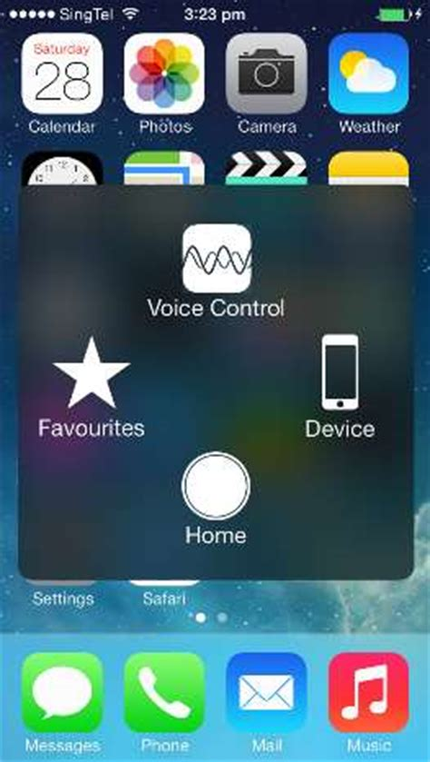 how to activate iphone home button on touch screen