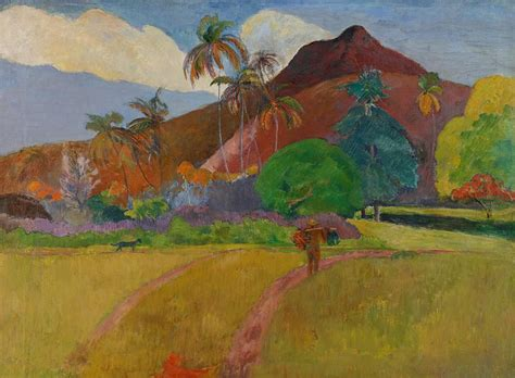 Home Decor In Usa tahitian landscape painting by paul gauguin