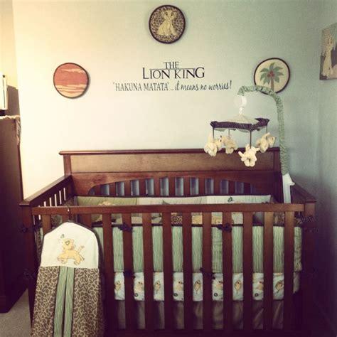 Lion King Nursery Dream Home Pinterest King Nursery Decorations