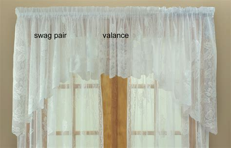 curtain outlet online lace valances balloon shades swags m valances