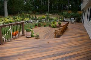 composite patio great new pvc decking by fiberon azek and timber tech