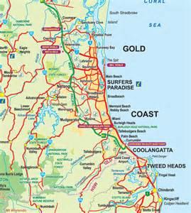 broadbeach map accommodation hotels gold coast qld