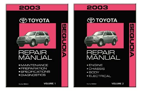 service manual manual repair autos 2003 toyota sequoia electronic toll collection service 2003 toyota sequoia shop service repair manual book engine drivetrain oem ebay