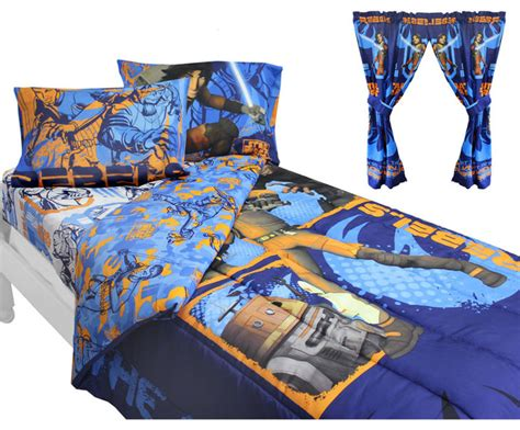 Star Wars Bedding And Curtains Rebels Fight Bedroom