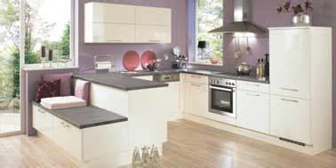 cuisine parme design et couleur parme pour la cuisine ouverte