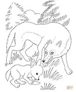 Baby Wolf Cub Coloring Pages Coloring Pages Baby Wolf Coloring Pages