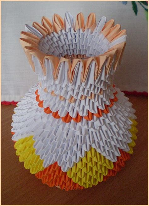 3d Origami Figures - 3d origami v 225 za s vyschnut 253 mi ru蠕ami janka lisinovi芻ov 225