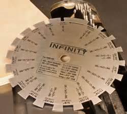 Infinity Dado Caliper Newwoodworker Com Llc