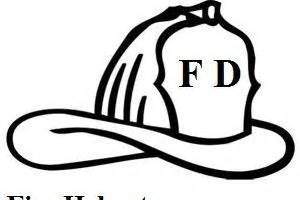 coloring page of fireman hat 242 best images about coloring pages on pinterest